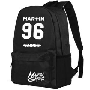 Мар в 96 рюкзак Мартин Гаррикс день пакет топ DJ звезда мешок школы Музыка packsack печати рюкзак Спорт школьный открытый рюкзак