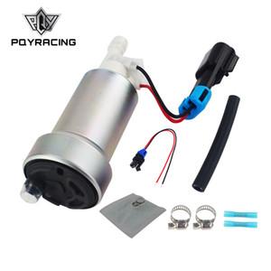 PQY RACING Бесплатная доставка - E85 Racing Высокопроизводительный внутренний топливный насос 450LPH F90000267 Установить комплект PQY-FPB007