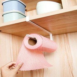 Многофункциональный Железный полотенцедержатель держатель для хранения висячие рулонной бумаги Организатор Tissue Полотенце Бар Кухня аппаратному Кухонные инструменты