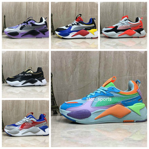 chaussures de puma RS-X RS Reinvention Toys 남성 운동화 브랜드 디자이너 Hasbro Transformers Casual Womens rs x 디자이너 스니커즈 36-45