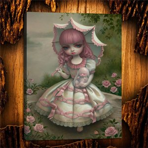 Mark Ryden Virgin and Child,HD Canvas Printing New Home Decoration Art Painting (Unframed Framed)