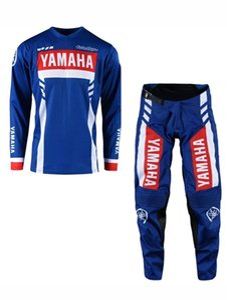 Venta al por mayor nuevoYAMAHA Motocross Traje Motobiker Racing Riding Jersey + Pantalones Motocross MX ATV Dirt Bike Racing Sets montar ropa