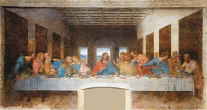 Da Vinici - The Last Supper Home Decor Handpainted &HD Print Oil painting On Canvas Wall Art Canvas Pictures 200707