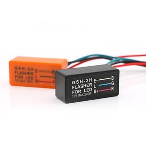 Flasher Relay universale 12V Motociclo Blinker relè ad alta qualità gira LED luce di segnale lampeggiatore del motociclo lampeggiatore