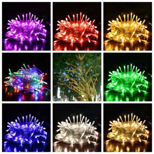 Stringa LED 10M 20M 30M 50M 100M AC220V di festa di natale della luce impermeabile Luci di Natale festa a casa decorazione della lampada FFA3763