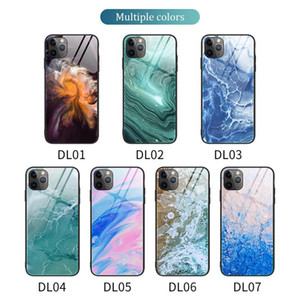 Fashion Tempered Glass Pattern Cover For iPhone 7 8 Plus SE X XS XR 11 Pro Max samsung s20 s10 s9 plus note 9 10 A20 A30 A70 A50 A80 A90