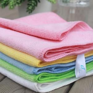 2PCS ستوكات القماش قماش المناشف غسل المنفضة ستوكات خرقة مسح القماش للحصول على سيارة تنظيف طاولة المطبخ نافذة الحمام صحن