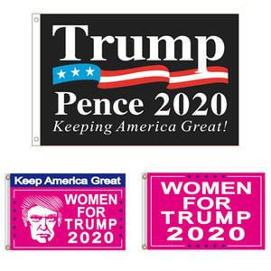 3 * 5 FT Trump 2020 Flag 90 * 150cm Keep America Great Women Für Trump Banner Digital Print Dekor Hängen Donald Trump Banner BH3424 TQQ