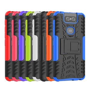 Asus Zenfone 6 2019 ZS630KL Için telefon Kapak Kılıf Hibrid Zırh Hard Case Asus 6z Zenfone 6z Muhafaza Için Koruyucu Kapak