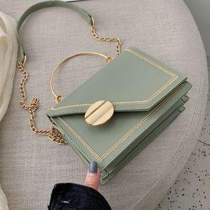 Matcha Green Pu Leather Design Crossbody Bags Women Small Handbag Small Bag Hand Bag Ladies Designer Evening Bags