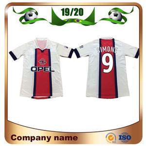 98/99 Version rétro Maillot de football 1998/1999 Extérieur Blanc Okocha Worns Maillot de foot GR GAM AVELAINE