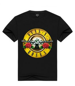 Guns N Roses Stampato Casual Mens Designer Tshirts Estate Maschio Donna girocollo manica corta Tops Rock and Rock Hip Hop Tees