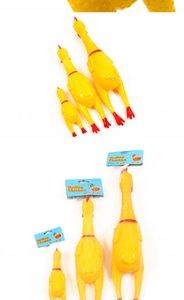 Top des Screaming Chicken squeeze son Jouet Animaux Jouets pour chiens Produit strident Décompression Outil Squeak poulet Vent