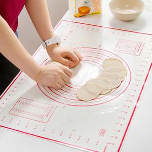 60 * 60 cm Yapışmaz Silikon Pişirme Mat Pad Pişirme Sac Cam Elyaf Rolling Hamur Mat Kurabiye Macaron Pişirme Mat Pastacılık Araçları