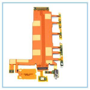 Pour Sony Xperia Z3 L55 D6603 D6653 Nouveau interrupteur principal sous tension / OFFVolume Bouton Flex ruban câble avec pièces de rechange Micro Vibro