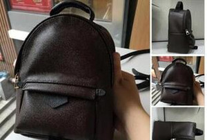 Designer-TOP PU de alta calidad PU Europa hombres bolsa Famosos diseñadores bolsos mochila de lona mochila escolar para mujeres Mochila F1 Mochilas de estilo