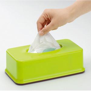 Gros- Japon Inomata élégant Simplicité plastique boîte de rangement tissuecassette Porte-serviette Tissue Box