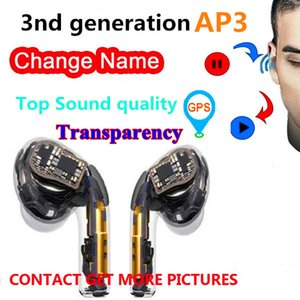 Top quality Headset 3 Gen H1 Chip Earbuds PRO Tws Wireless Bluetooth Earphone Stereo Earphones Sports headphones pk i500 AP2 AP3 i7s i9s