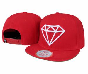 1 PCS Diamond Baseball Caps Snapback cap ainsi styles de chapeau 5 panneau diamant suply Co chapeaux réglable Hommes femmes
