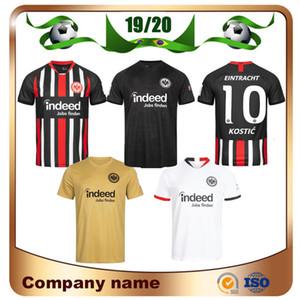 2019 Eintracht Francoforte DA COSTA Jersey di calcio 19/20 Frankfurt Home FERNANDES DE GUZMAN JOVIC Lontano uniforme bianca HALLER KOSTIC terzo Calcio