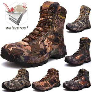 Men Professional Tactical Hiking Boots Waterproof Breathable DELTA Shoes Combat Boots Camping Mountain Sports Sneakers