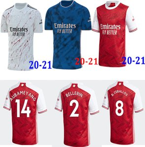 TOP soccer jersey 20 21 PEPE NICOLAS CEBALLOS HENRY GUENDOUZI SOKRATIS MAITLAND-NILES TIERNEY 2020 21 football shirt