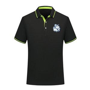 Club Puebla Polo Shirt Summer Mens Business Casual Tops Men's sports Run Short Sleeve Polo Shirt training Polos Men's Polos