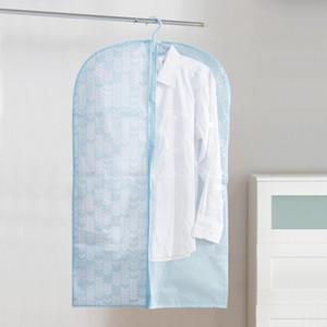 Accueil Armoire Tissu Oxford 60 Impression * 100cm Costume antipoussière Sac Hommes Femmes Chemise sac de rangement Chambre Vêtements suspendus Sac de rangement DH0975 T03