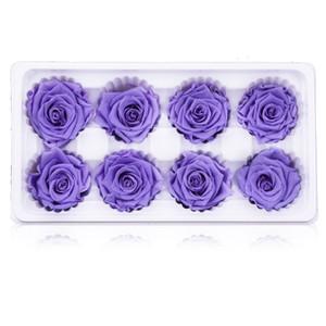 DIY Artificial Rose Flor Cor Brilhante Decoração de Casa Delicado Flores Secas Festival de Casamento Suprimentos Novo Estilo 27hl Ww