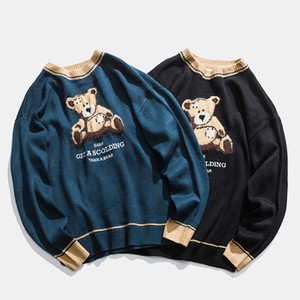 Teddy Bear modello Maglione Lover Inverno Vintage casuale simpatico orso donne maglioni oversize Harajuku Teddy Maglioni