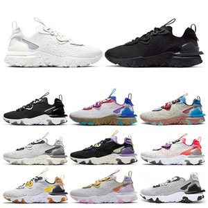 Nike Epic React Element 87 del deserto Terra Antlia Kanye West Uomini Donne Scarpe Bred Scarpe Yecheil Yeshaya Statico Sneakers Sport 36-46 Esecuzione