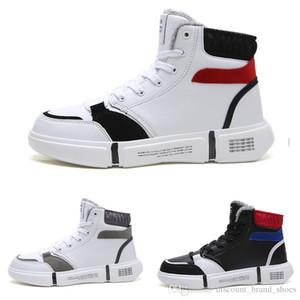 La nueva llegada barato encaje diseñador simple type4 suaves, negro, blanco cálido gris hombre chico hombres Botas para hombre zapatillas de deporte de los formadores de arranque zapatos para caminar al aire libre