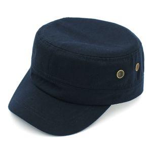 Patrulla militar de la manera hombres del verano del casquillo de las mujeres del Ejército Cadet Sombrero de combate Caza Fatique Headwear transpirable de béisbol del sombrero del Snapback de conducción