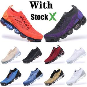 2020 X de la mosca Los vapores Moc Cojín Kint 2.0 Hombres Mujeres de los zapatos corrientes Tamaño Diseñador Airs VPM para hombre de las zapatillas de deporte 36-45 Maxes