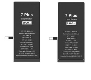 apply iphone battery for 5 5s 6 6s 7 7s 8 8s 10  max  pro supper power Factory direct power energy 2900mah Li-ion lithium cell phone battery