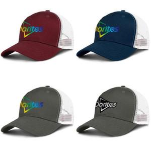Doritos Corn Flake Vintage Old mens and womens adjustable trucker meshcap cool fitted custom trendy baseballhats Gay Pride Rainbow Food