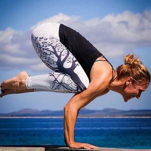 Hot Women Butt Lift pantaloni a vita alta Yoga compressione delle ghette Pantaloni Scrunch