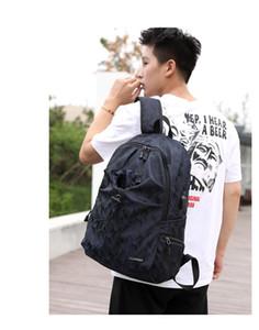 Дизайн одежды водонепроницаемый мужской компьютер рюкзак многофункциональный студенческая сумка USB зарядка рюкзак открытый дорожная сумка Оптовая