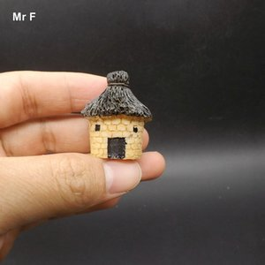 Resin House Cottages Model Micro DIY Toys Kids