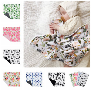 6styles Baby Swaddle Blanket Newborn Infant Photography Wrap cartoon Blankets Kids Bedding Mat Kid Sleeping appease Supplies 40*48CM FFA2940