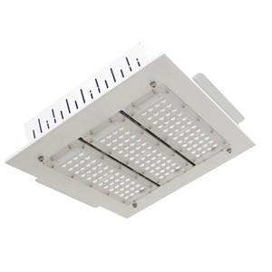 Sıcak LED Projektörler Canopy Işık 50W 100W 150W 200W Yüksek Bay Işık Gömme GAZ İstasyonu Işık AC 85-277V 5 yıl garanti için Monteli