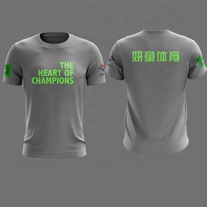 2019Wholesale High Quality Blank Cheap Sublimation Printing Custom Men T Shirt