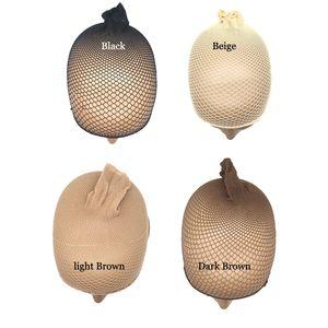 10pcs Hair Style élastique unisexe Bas perruque Liner Cap Snood en nylon extensible tissage filet à mailles de filet élastique dames perruque Caps