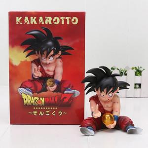 10 см Dragon Ball Z Сон Гоку ребенок ребенок kakarotto ПВХ фигурку игрушки Y190529