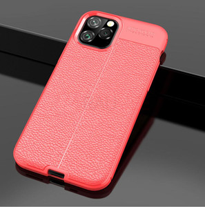 UK New Caso chegada de Couro Para Iphone11 11 Pro da tampa do caso de Luxo Phone Case Silicon Bumper on Para Iphone 11 Pro Max 11 Pro Funda Tampa
