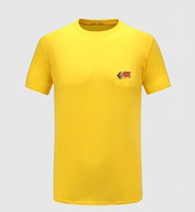 2020 New Fashion Men's T-shirts New summer short sleeves Top European and American popular printed T-shirts for men and women lovers high qu