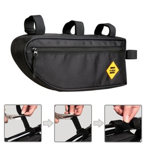 Bags Pouch Cycling Bicycle Bags Top Tube Front Frame Bag Waterproof MTB Road Triangle Pannier Dirt-resistant Bike Accessories