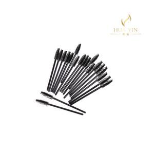 2019hot 50pcs brosse à cils jetable Mascara baguettes maquillage brosses cils Peigne Maquillage outils Cheveux synthétiques en gros