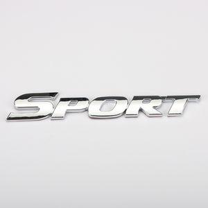 New Car Styling 3D Sport ABS Chrome Logo autocollant de voiture emblème Badge Decal Auto Accessoires ajustement universel pour Toyota highlande