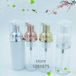 30ps 30ml Plastik Foamer Pompa Doldurulabilir Boş Kozmetik Şişe Şişe Temizleyici Sabun Makinesi Köpük şişe altın pompasını kirpiklere